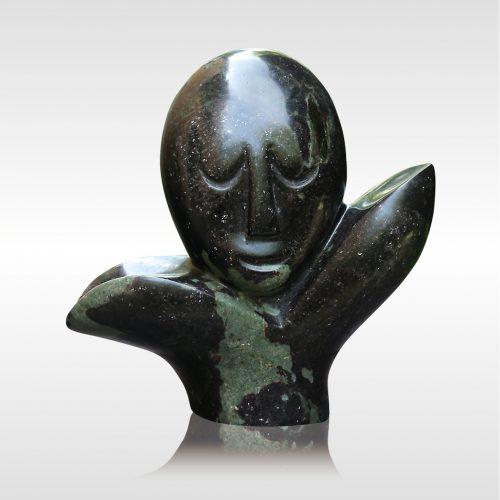 Skulptur Man in flower (Blumenmann)