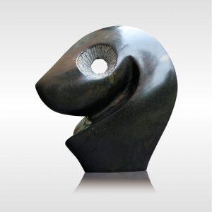 Skulptur Abstraktes Chameleon