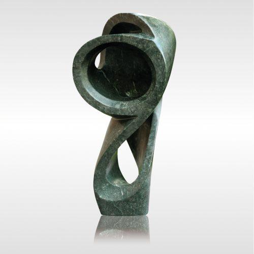 Skulptur Keep in Touch