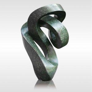 Skulptur Lean on me
