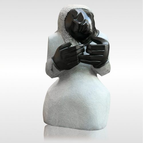 """Skulptur """"Counting Blessings"""""""