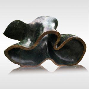 "Skulptur ""Drifting"" von Rickson Zavare (Murehwa)"