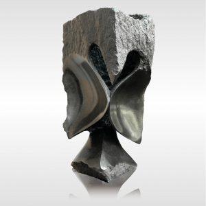 "Skulptur ""Smart Owl"" von Rickson Zavare (Murehwa)"