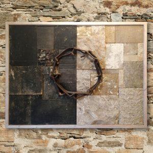 DORNENKRONE - Steinkunst aus Stein der alten Frauenkirche von Reinhard P. Kilies