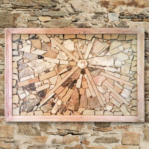 Sonne der Frauenkirche - Steinkunst aus Stein der alten Frauenkirche von Reinhard P. Kilies